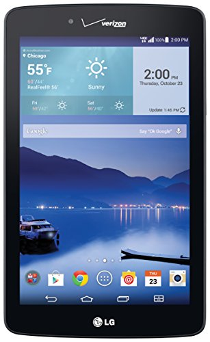 LG G Pad 4G LTE Tablet, Black 7-Inch 16GB (Verizon Wireless)